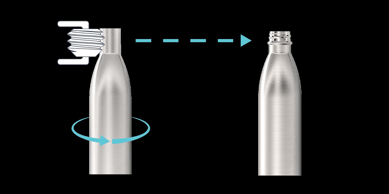 Hvordan vi lager våre metallflasker - Step3
