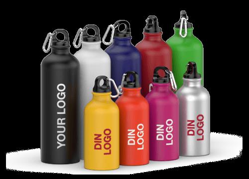 Vita - Logomerkede vannflasker