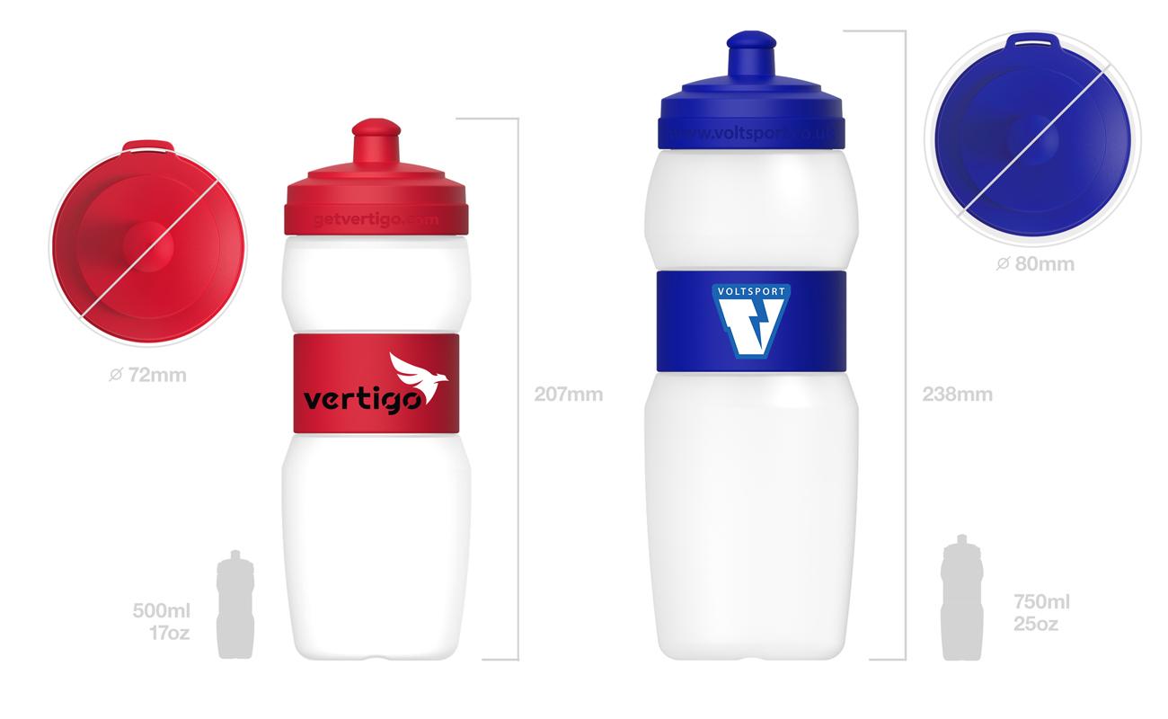 Fit - Logomerket vannflaske