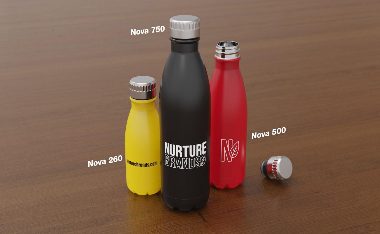 Nova - Personlige vannflasker