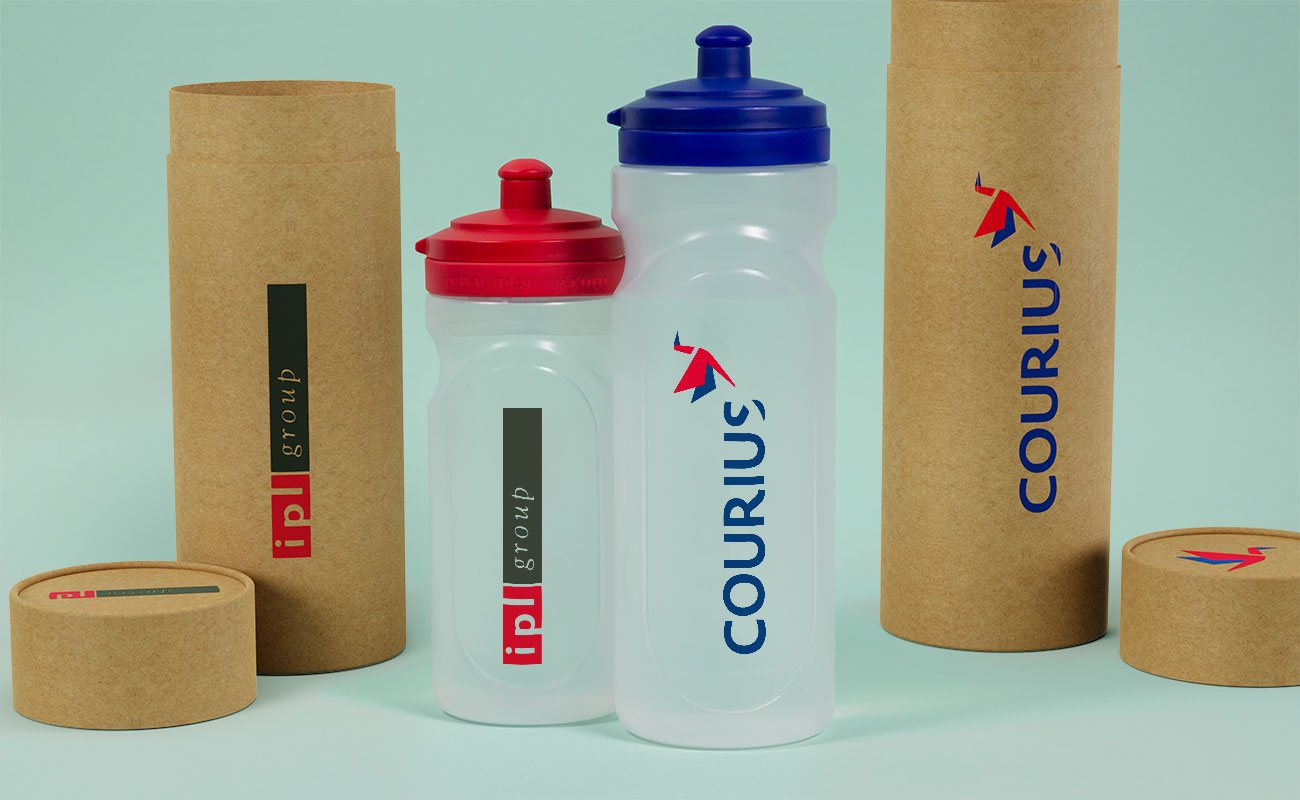 Refresh - Logomerkede vannflasker