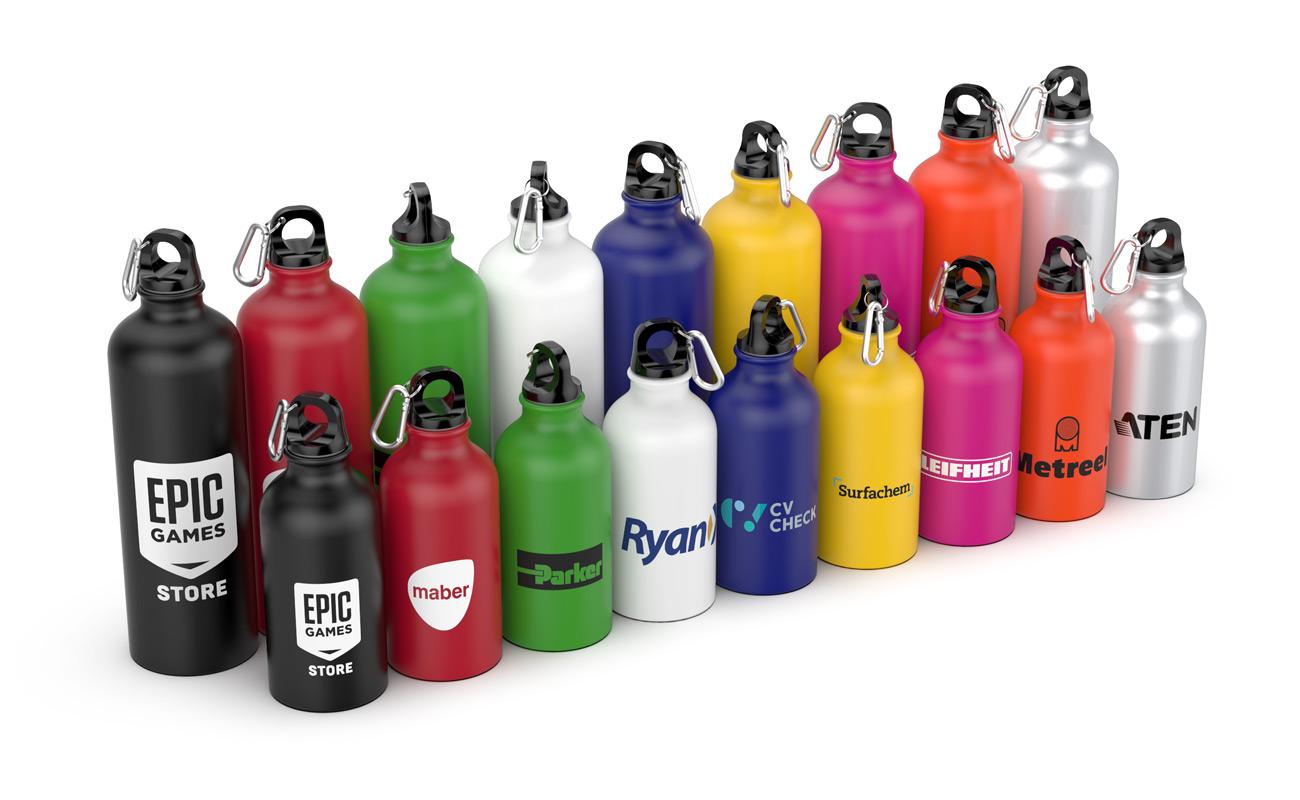 Vita - Merkede vannflasker logo